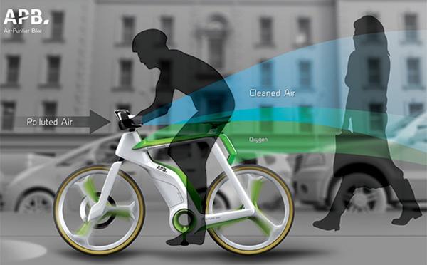 Air-Purifier Bike