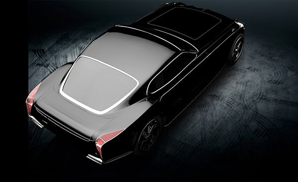 Bulletproof Sports Car