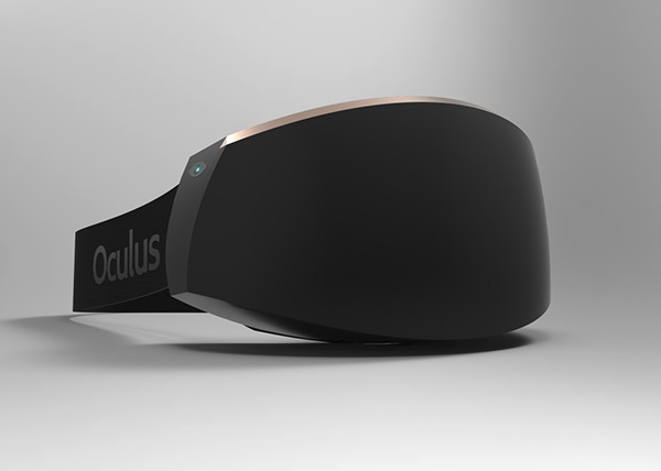Oculus VR Headset Redesign