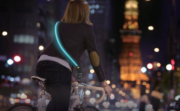 City Firefly Bicycle Chain Lock System