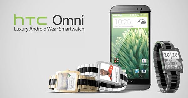 HTC Omni Smartwatch