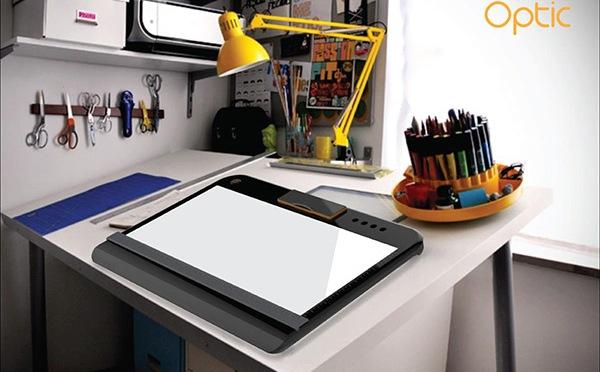 Optic – Portable Tracing & Light Table