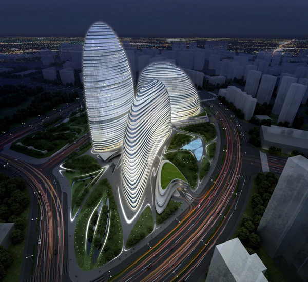 Wangjing SOHO in Beijing