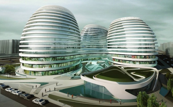 Galaxy SOHO Complex in Beijing