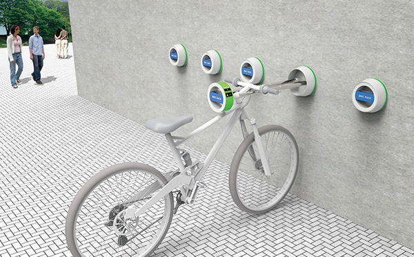 Wall-Hanger Bike Rack