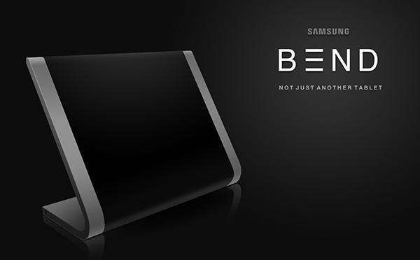 Samsung BEND – Flexible Tablet