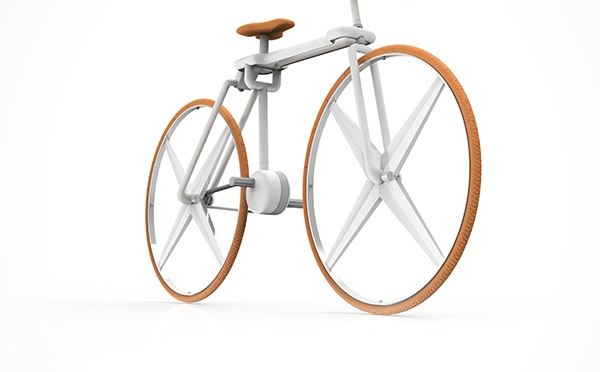 Fold bicycle