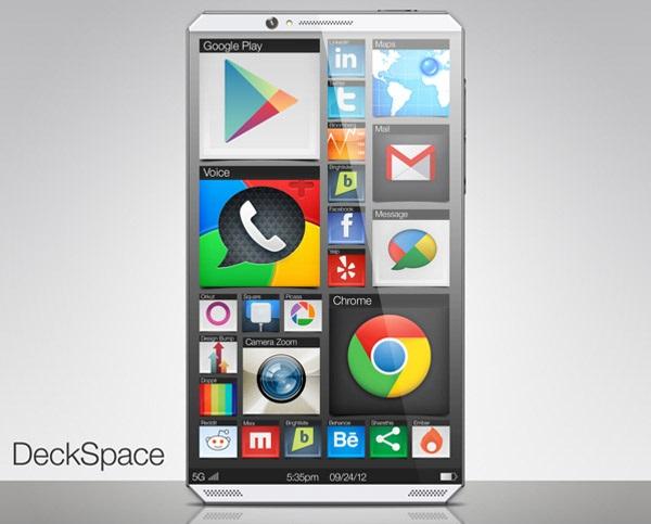 DeckSpace Concept Phone