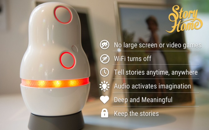 StoryHome – The Connected Storytelling Device