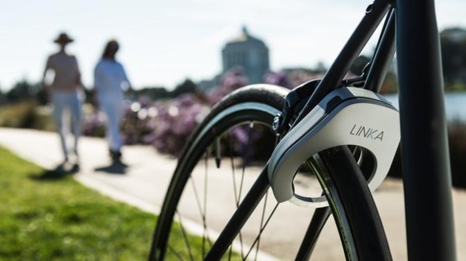 LINKA – World's First Auto-Unlocking Smart Bike Lock