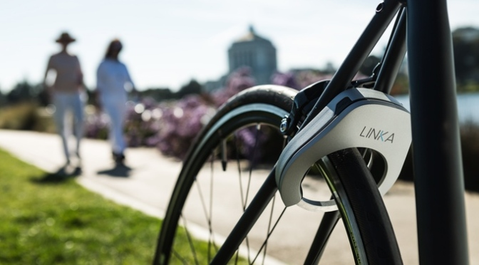 LINKA – World's First Auto-Unlocking Smart Bike Lock