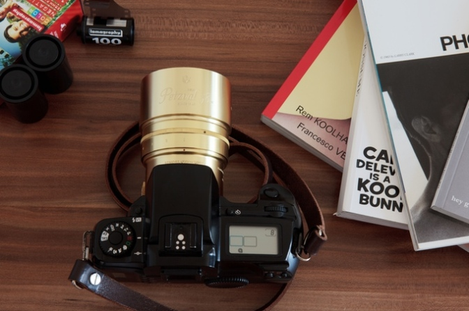The Lomography New Petzval 58 Bokeh Control Art Lens