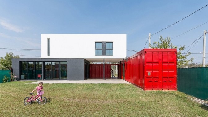 A Container Home With Personality