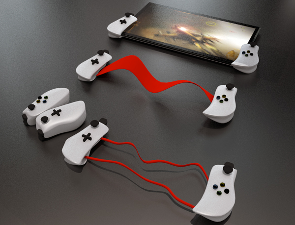 Gamepad for Tablet