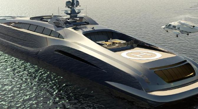 Nedship Sovereign 105m Superyacht