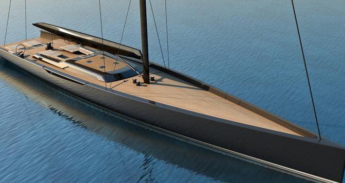 Reichel Pugh – Nauta 155' Yacht