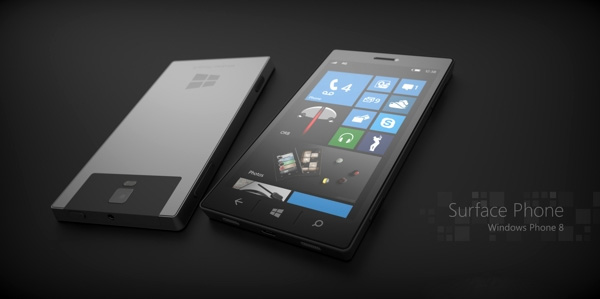 Microsoft Windows Surface Phone Concept