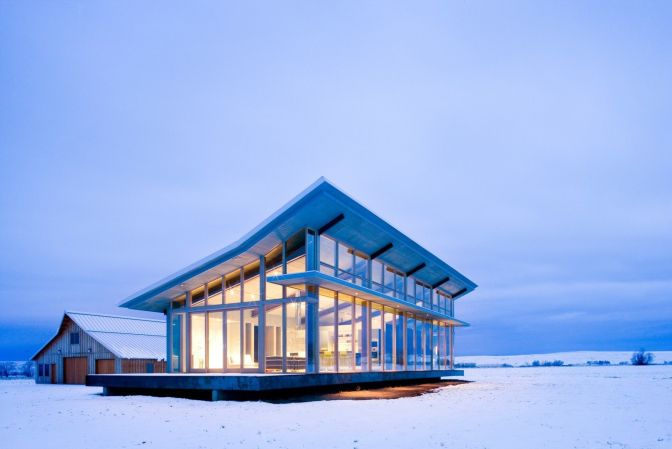 Glass Farmhouse
