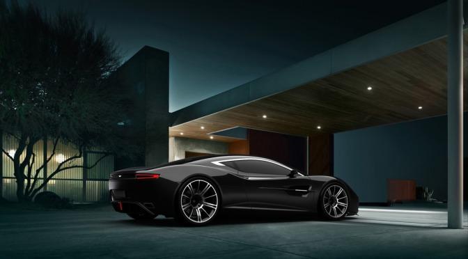 Aston Martin DBC Supercar
