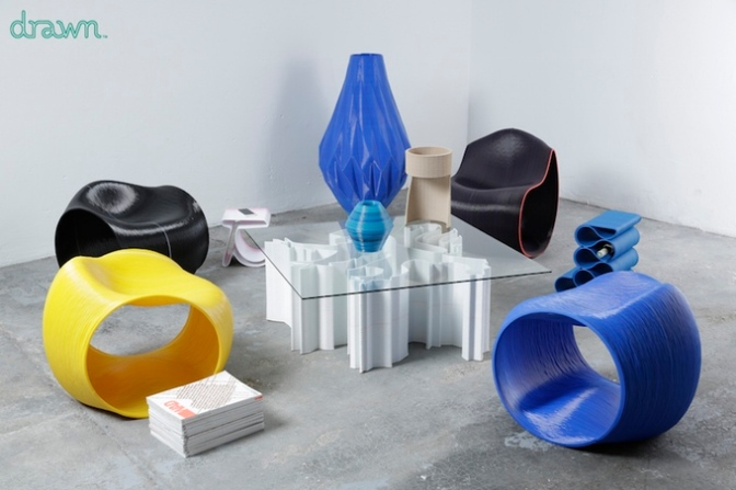 Drawn – 3D Printed Furniture & Deco