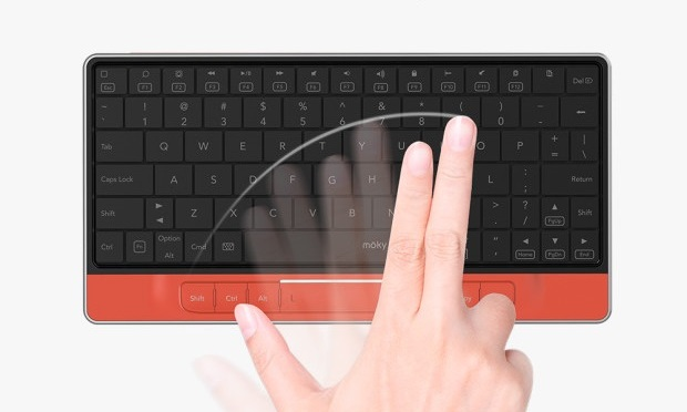 moky – Invisible Touchpad Keyboard