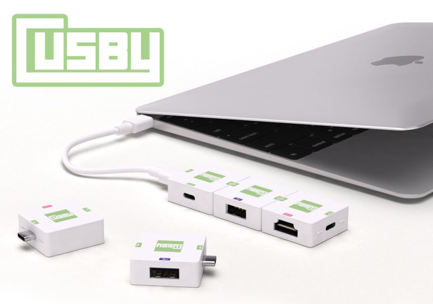 Cusby – USB-C Modular & Expandable Adapter