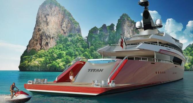 Titan – DP055 Yacht
