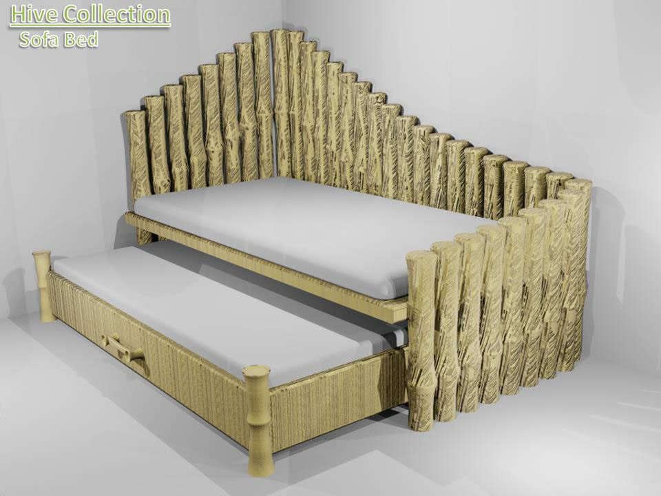 Hive Bamboo Furniture Collection Conceptcus