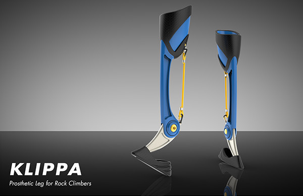 KLIPPA – Prosthetic Leg for Rock Climbers