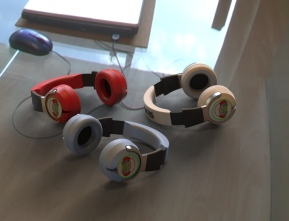 Scutes Headphones
