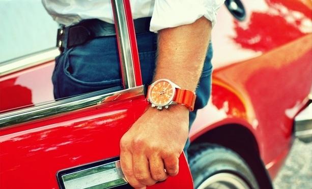 Vintage Driver Chrono