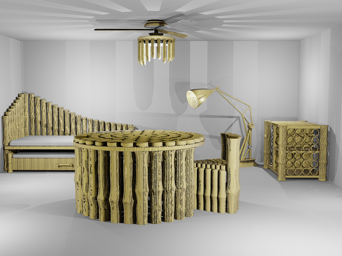Hive – Bamboo Furniture Collection  Conceptcus