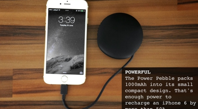 Power Pebble – Intelligent Smartphone Charger