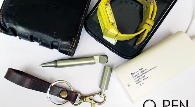 O-PEN – Compact Pen + Bottle Opener