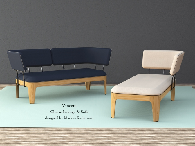 Vincent – Chaise Lounge & Sofa