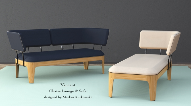 Vincent – Chaise Lounge & Sofa