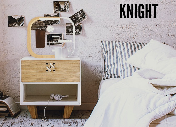 Knight – The Bedside Organiser