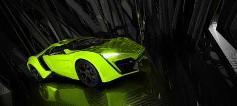 W Motors Lykan Hyperlight