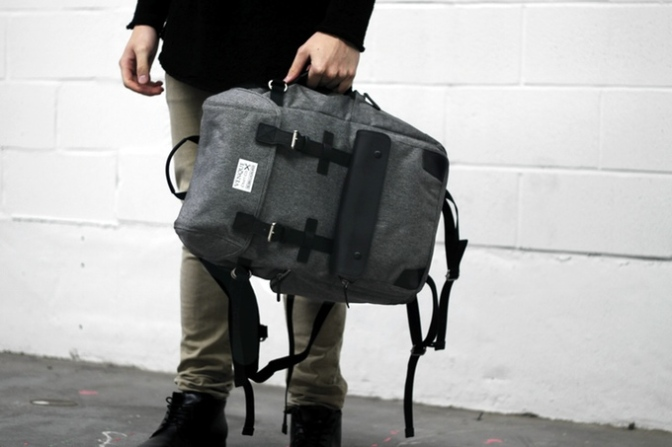 VENQUE – Duffle + Backpack 2in1
