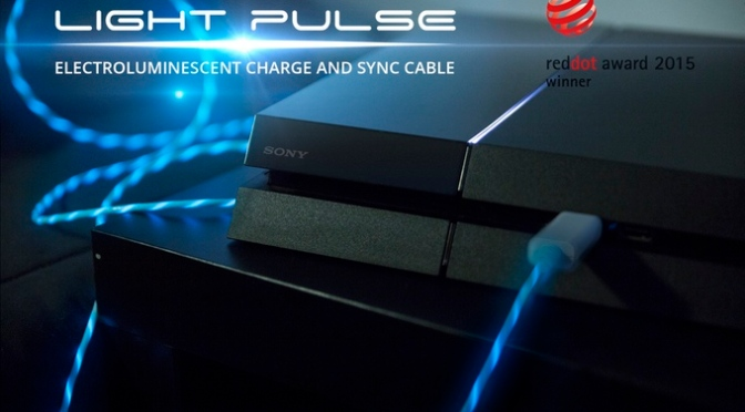 Light Pulse Electroluminescent Charge & Sync Cable