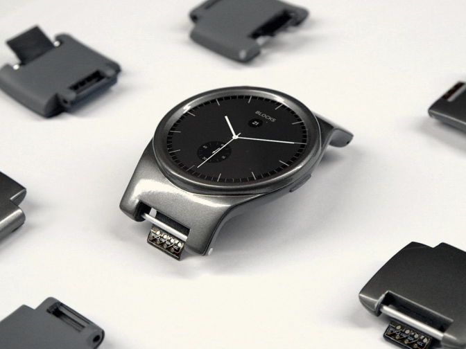 BLOCKS -Modular Smartwatch