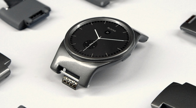 BLOCKS -Modular Smartwatch