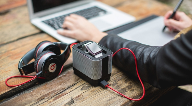 Pocket – Multi-Functional Charging Dock for the Apple Watch