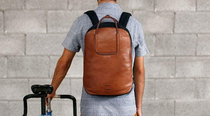 DUCKS IN A ROW's Urban Cyclist Backpack