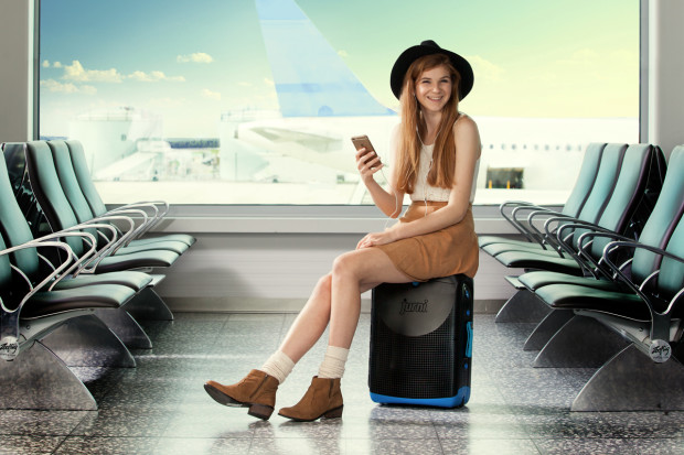 Jurni – Sit-On, Carry on Suitcase