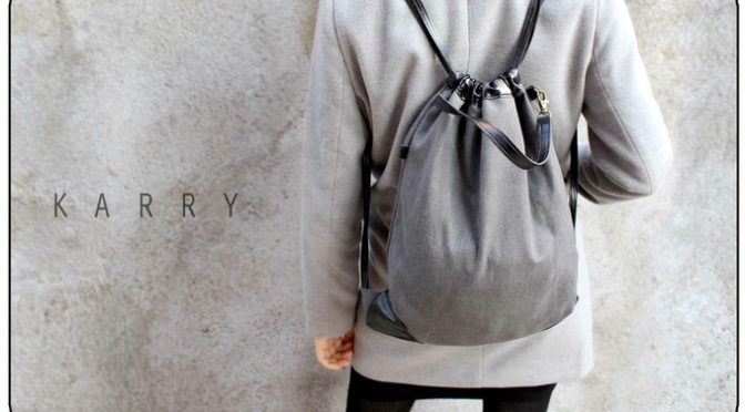 Karry – Canvas Draw String Bag / Backpack