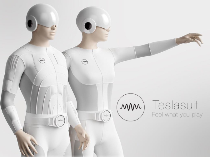 Teslasuit – Suit For Virtual Reality And Gaming