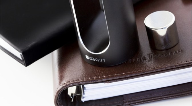 MINUS GRAVITY – The Gravity-Defying Executive Desk Toy
