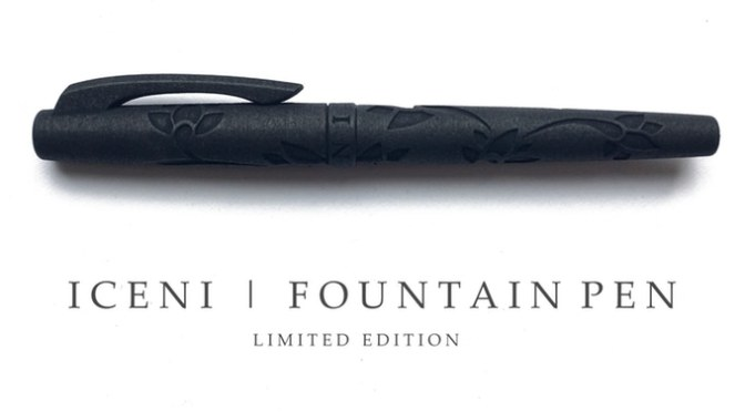 ICENI FOUNTAIN PEN – 3D Printed fountain pens