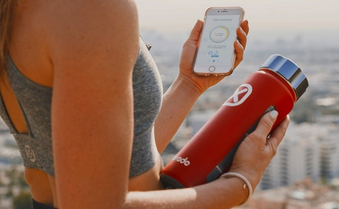 Hydrade — Smart Water Bottle for Optimal Personal Hydration